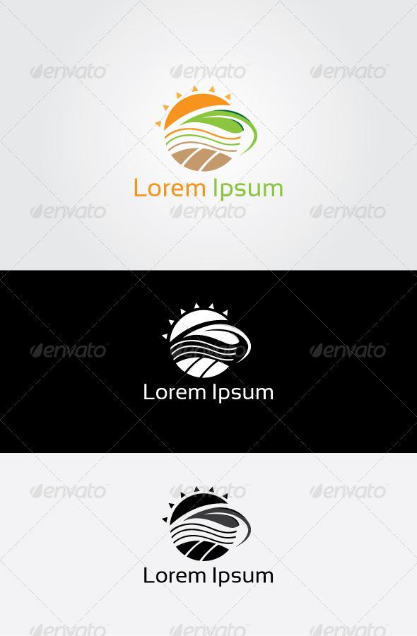 GraphicRiver Sun Farm Logo 6834513