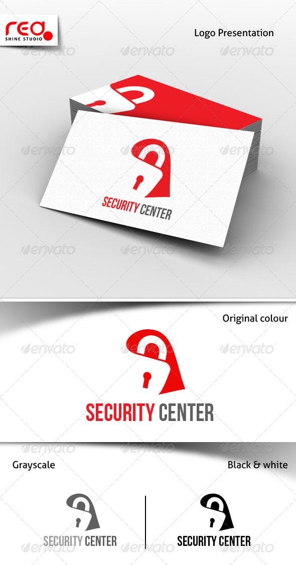 GraphicRiver Security Center Logo 6835088
