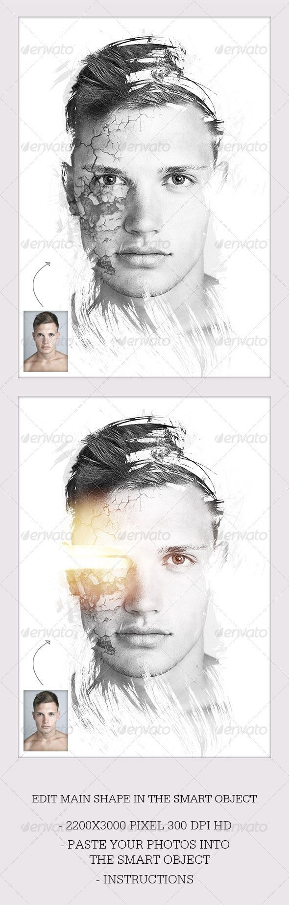 GraphicRiver Dream Photo Template Sci-Fi 6835096