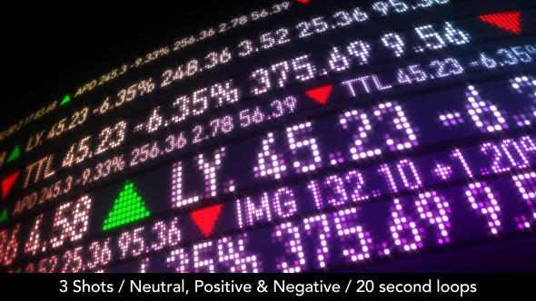 Stock Market Ticker 3 3 Versions