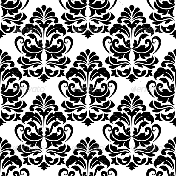 GraphicRiver Heavy Arabesques Seamless Pattern 6835599