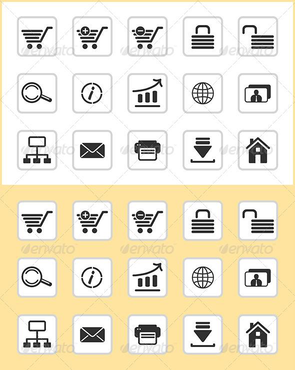 GraphicRiver E-Commerce Icons 6790415