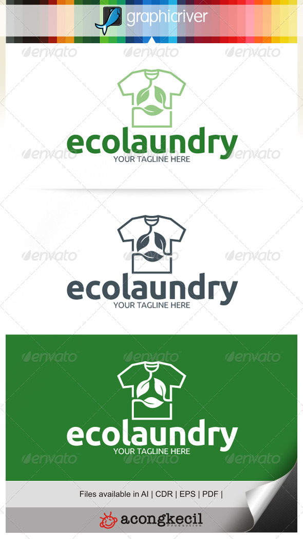 GraphicRiver Eco Laundry V.2 6836976