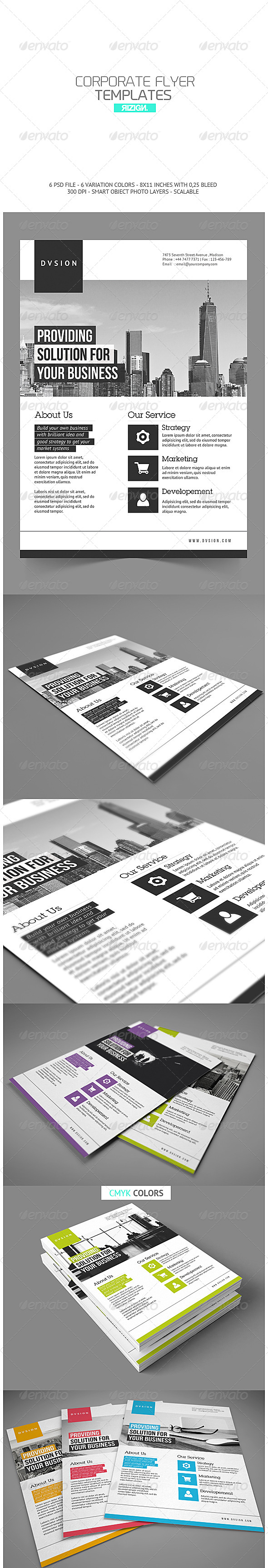 GraphicRiver Corporate Flyer 6815668