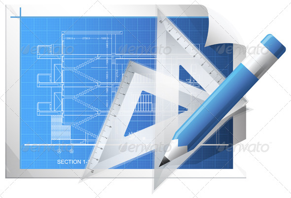 GraphicRiver Blueprint Sheet Illustration 6837033