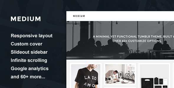 Medium - Cover Grid Theme
