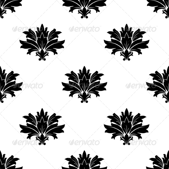 GraphicRiver Seamless Floral Pattern 6837125