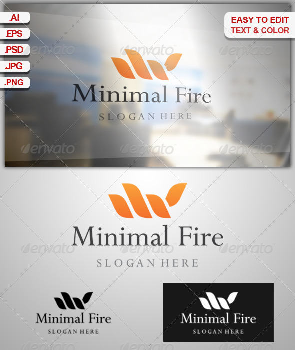GraphicRiver Minimal Fire 6837215