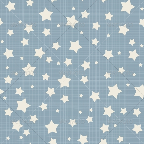 GraphicRiver Seamless Stars Pattern 6837217