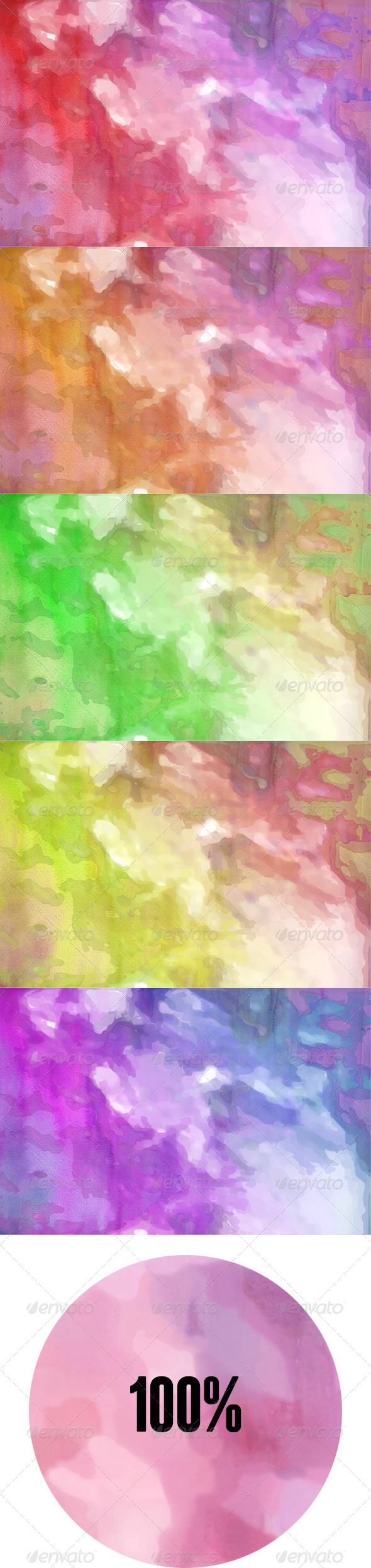 GraphicRiver Magic Watercolor Texture 6837272