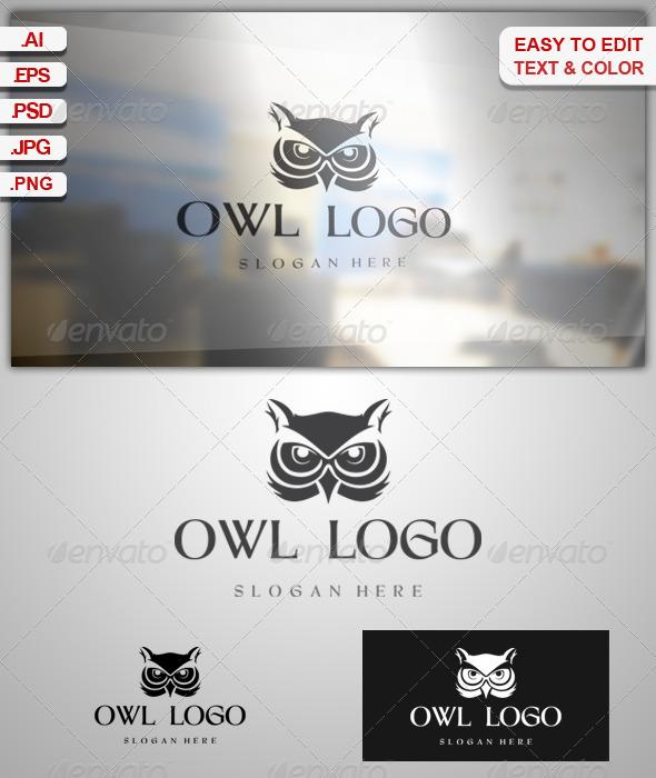 GraphicRiver Owl Logo 6837302