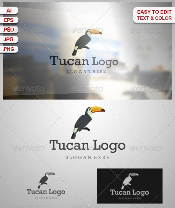GraphicRiver Tucan Logo 6837588