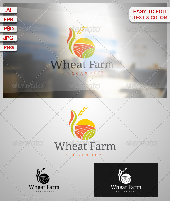 GraphicRiver Wheat Farm 6837707