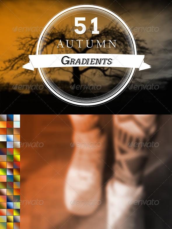 GraphicRiver 51 Autumn Gradients 6837750