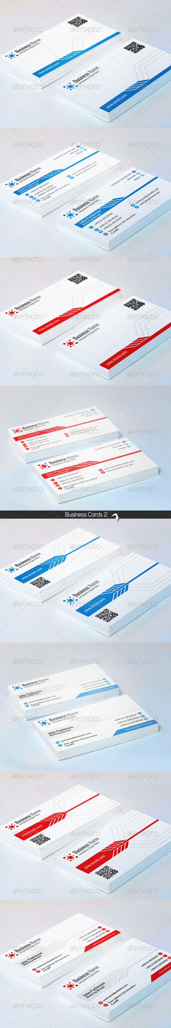 GraphicRiver Corporate Business Cards 6837819
