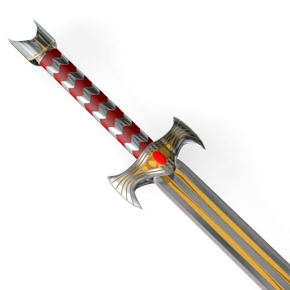 3DOcean Kings Sword 6837859