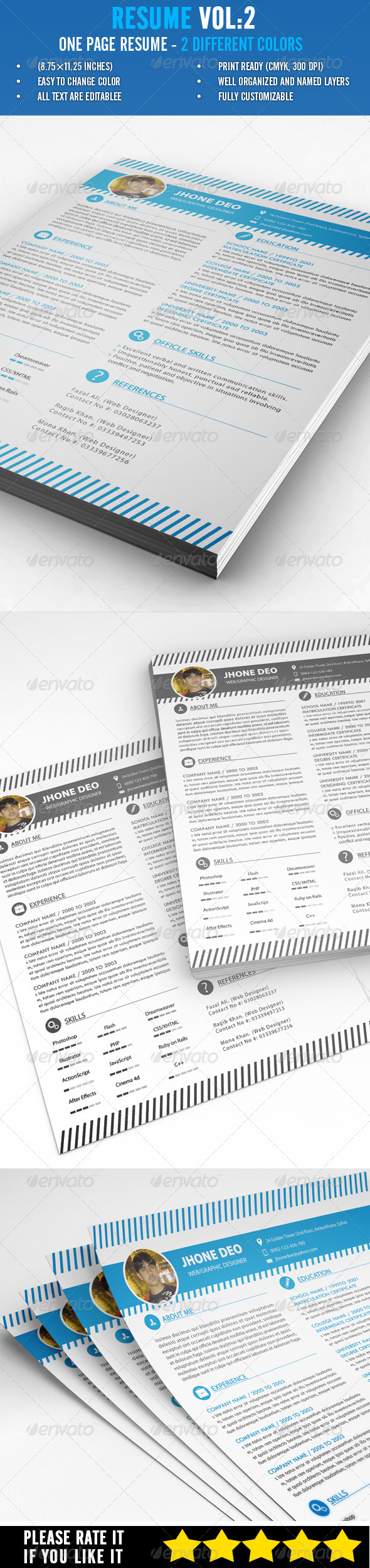 GraphicRiver Resume Vol 2 6813099