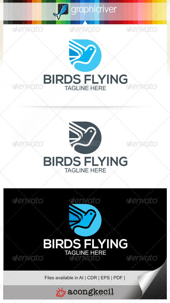 GraphicRiver Birds Flying V.3 6838059