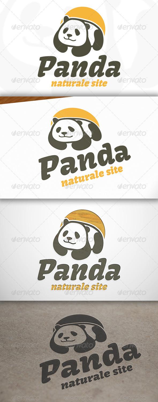 GraphicRiver Panda Logo 6838073