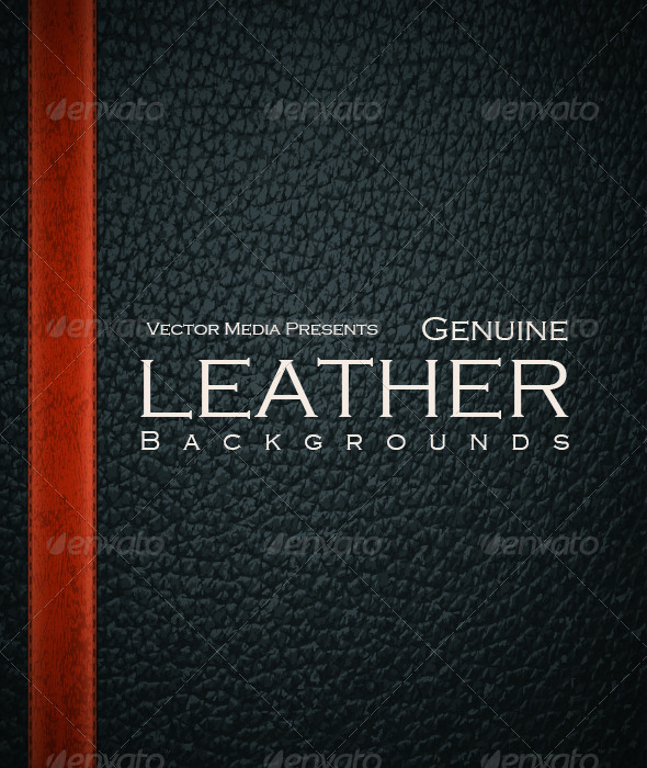 GraphicRiver Genuine Leather Backgrounds 6838197