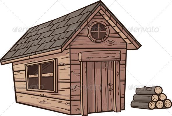 GraphicRiver Wooden Cabin 6838259