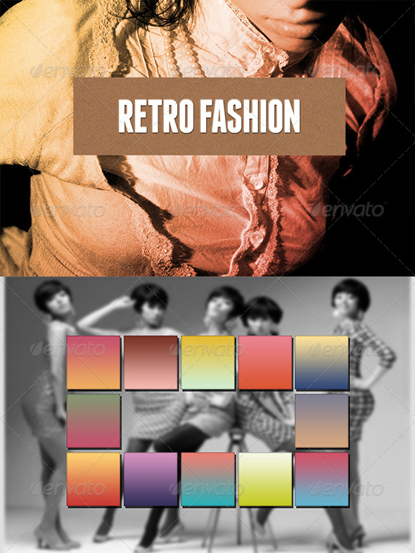 GraphicRiver Retro Fashion Gradients 6838270