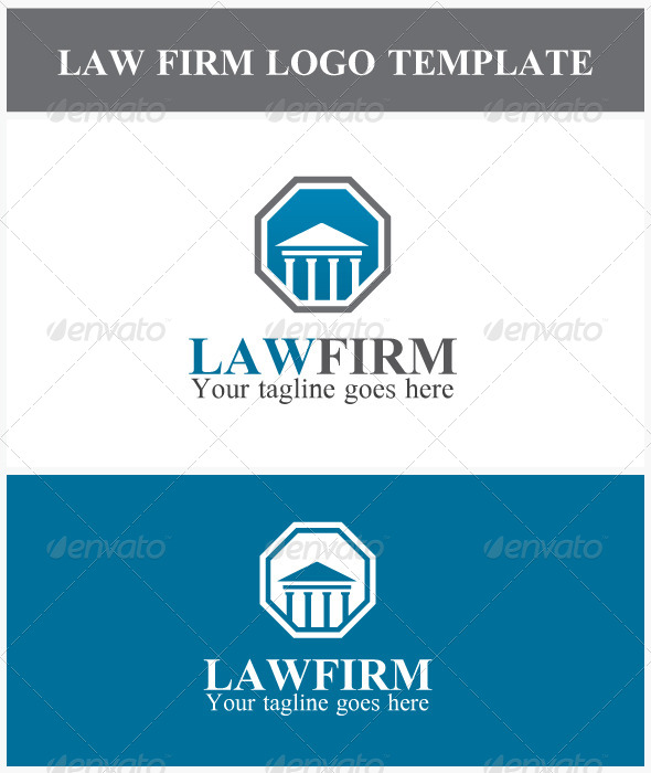 GraphicRiver Law Firm Logo 6838429