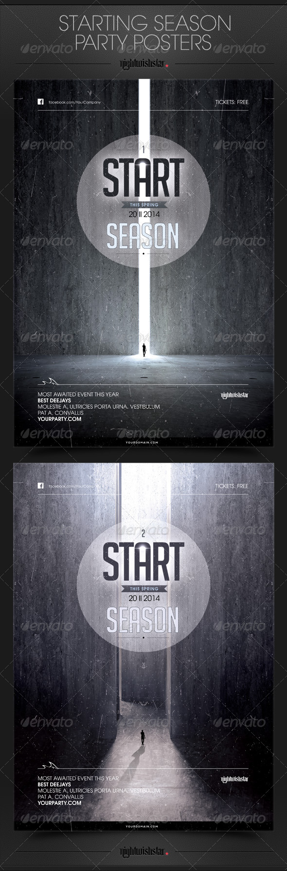 GraphicRiver Starting Season Party Poster 6839265