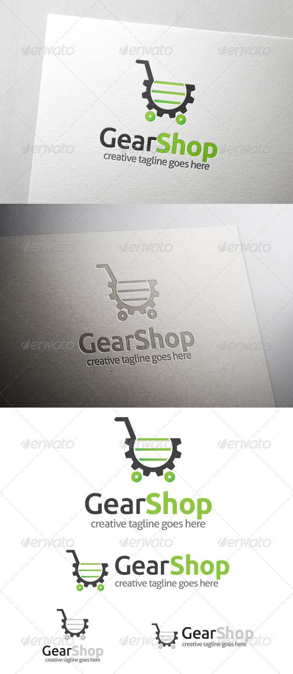 Gear Shop Logo