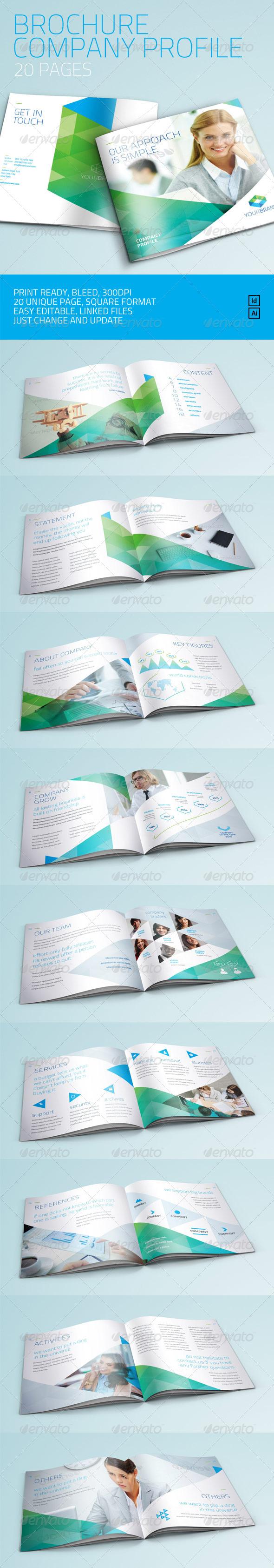 GraphicRiver Brochure Company Profile Multi Purpose 6839848