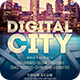 Digital City Flyer - GraphicRiver Item for Sale