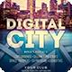 Digital City Flyer - GraphicRiver Item for Sale