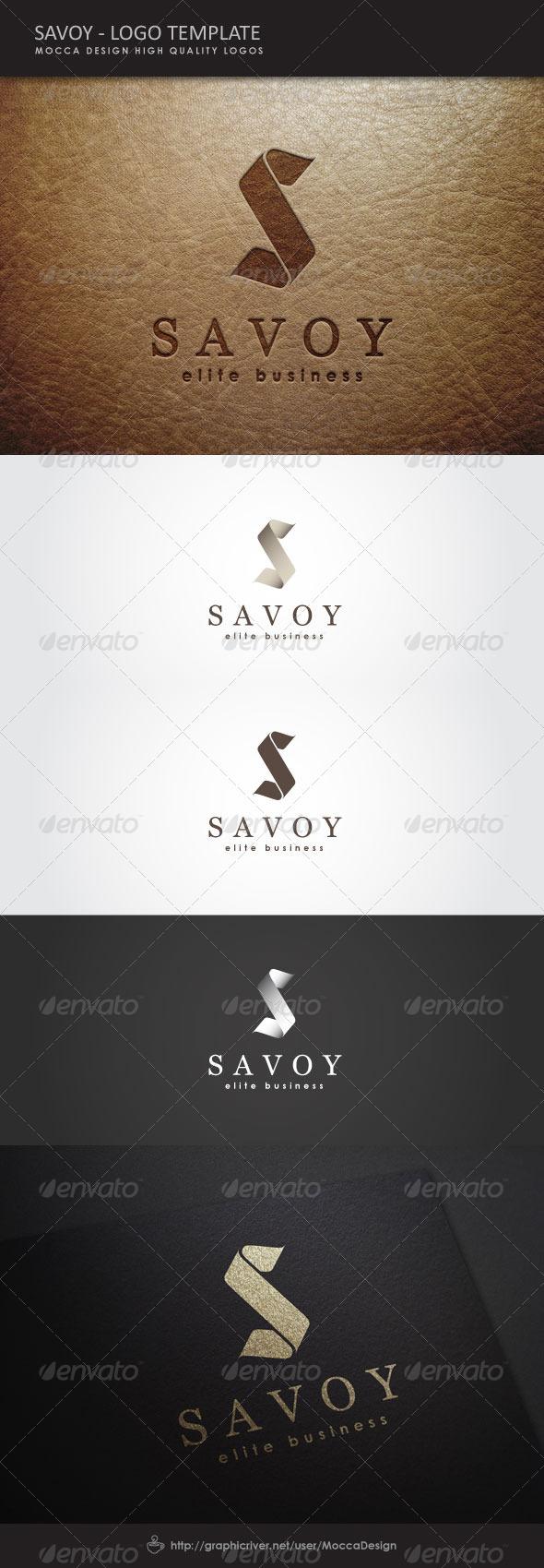 Savoy Logo - Letters Logo Templates