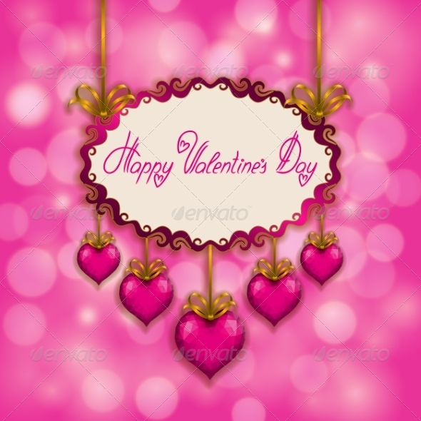 GraphicRiver Valentine s Day Background 6840569