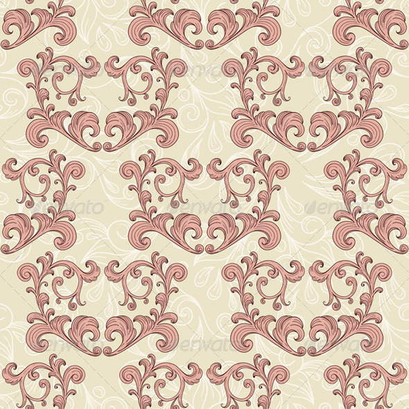 GraphicRiver Vector Valentine s Seamless Romantic Pattern 6840595