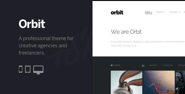 ThemeForest Orbit Professional WordPress Portfolio Theme 6807770