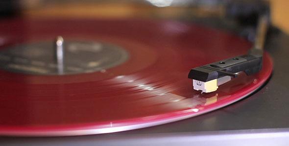 Vinyl Turntable Slider Shot