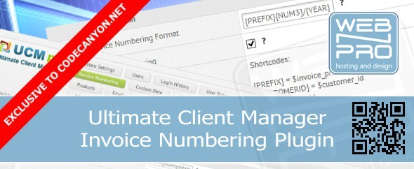 CodeCanyon UCM Plugin Invoice Numbering 6782956