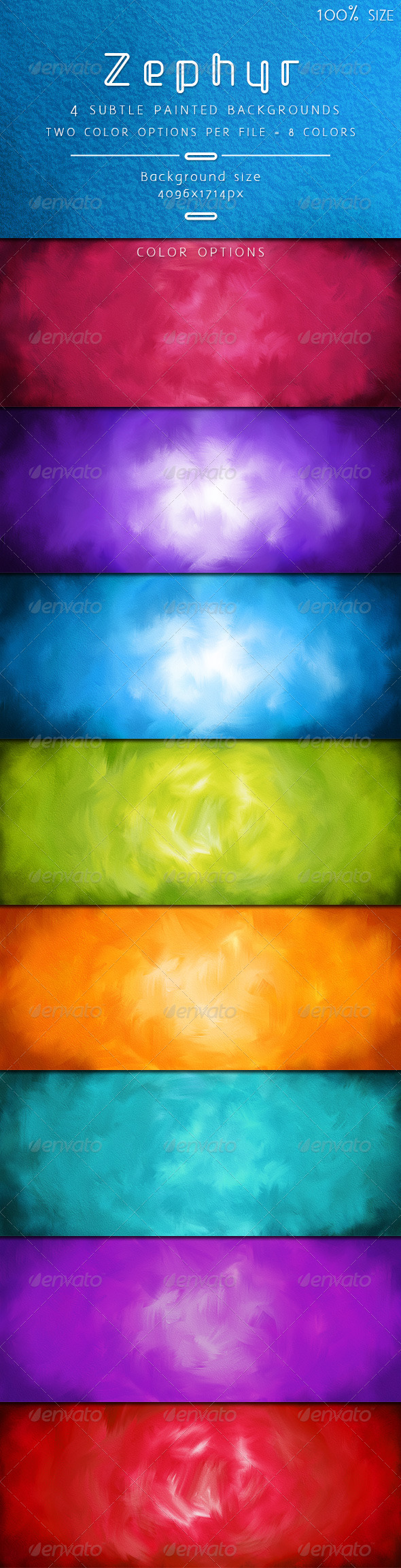 GraphicRiver Zephyr Subtle Painted Backgrounds 6842167
