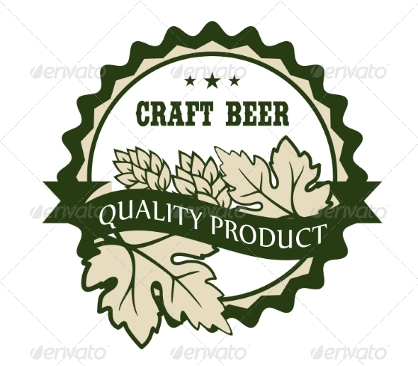 GraphicRiver Craft Beer Design Label 6842174