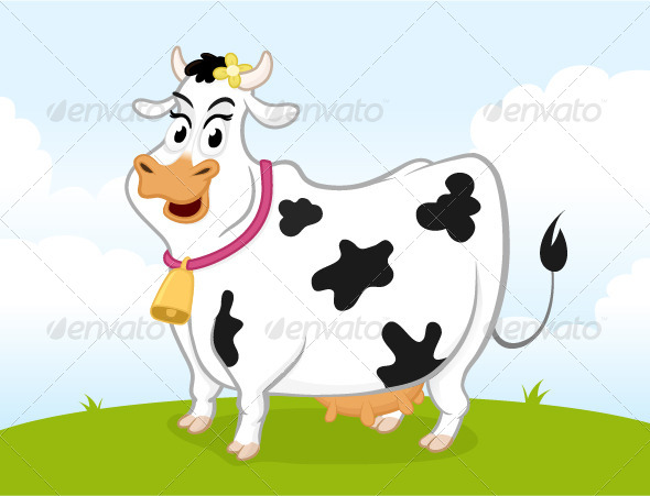 GraphicRiver Dairy Cow 6842865