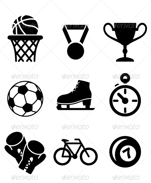 GraphicRiver Collection of Sports Icons 6843005