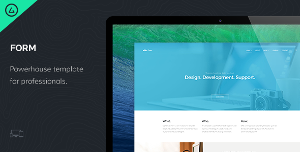 ThemeForest Form Responsive HTML5 Template 6843009