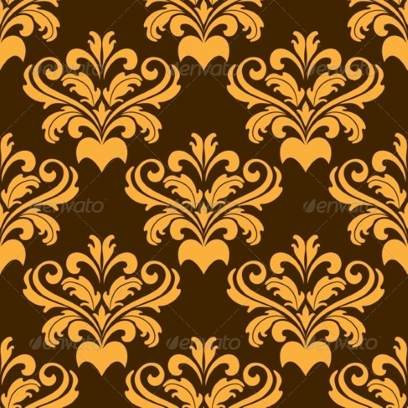 GraphicRiver Damask Style Seamless Pattern 6843061