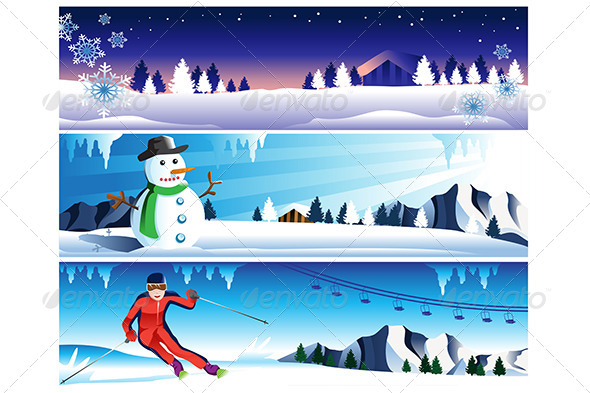 GraphicRiver Winter Banner 6843115