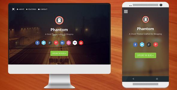 ThemeForest Phantom Responsive Parallax Theme for Ghost 6836135