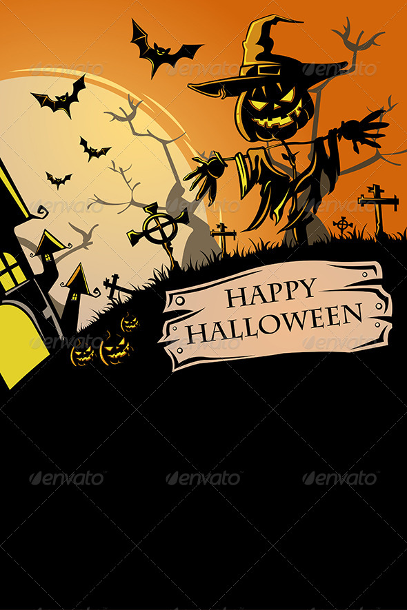 GraphicRiver Halloween Poster 6843777