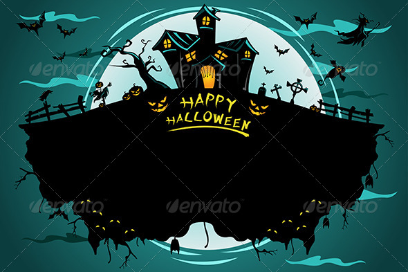 GraphicRiver Halloween Poster 6844032