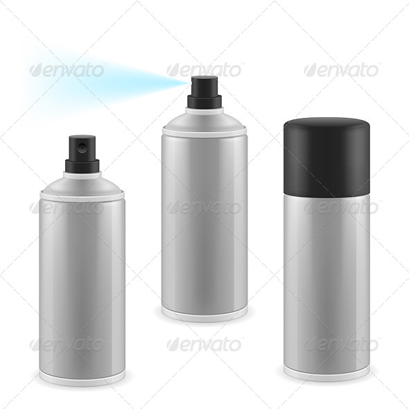 GraphicRiver Three Spray Cans 6844220
