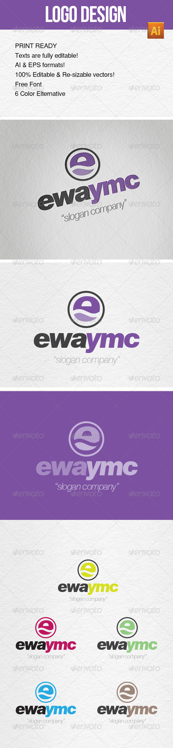 GraphicRiver Logo Template YMC Design 6826260